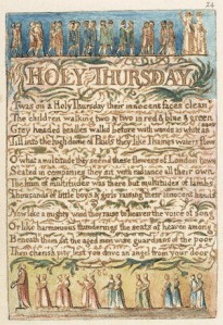 summary holy thursday from songs of Occurring on the last thursday before easter, maundy thursday (also known as  holy thursday) is a celebration of the last supper that jesus took with his.
